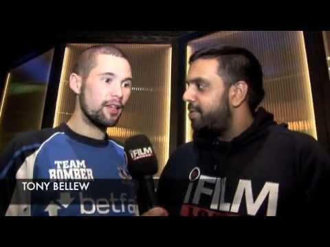 TONY BELLEW TALKS CHILEMBA REMATCH, NOT REGRETTING HIS COMMENTS & CHAD DAWSON / iFILM LONDON