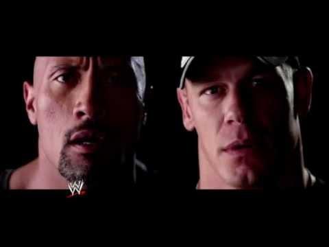 WrestleMania 28:The Rock Vs John Cena Official Promo 2012