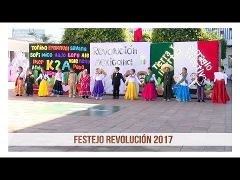Festejo de la Revolución 2017