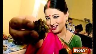SBAS surprises Samta Sagar at her home - INDIATV