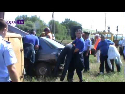 Accident de tren la Strășeni (simulare)