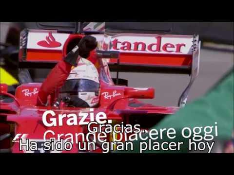 : Aprende italiano con Sebastian Vettel - Parece Joaquin, el del Betis