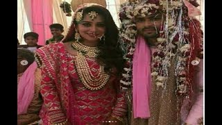 WEDDING PICS: Dipika Kakkar and Shoaib Ibrahim made the most beautiful BRIDE and GROOM ! - ABPNEWSTV
