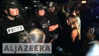 US: Charlotte protests continue over police killing - ALJAZEERAENGLISH