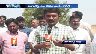 Real Estate Agents Pond Kabza In Edulanagulapally | Telangana | Ground Report | iNews - INEWS
