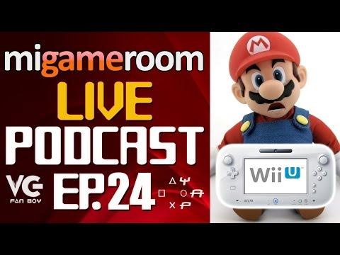 Siguen las Compañías abandonando el Wii U - Mi Gameroom Live Podcast. Ep. 24