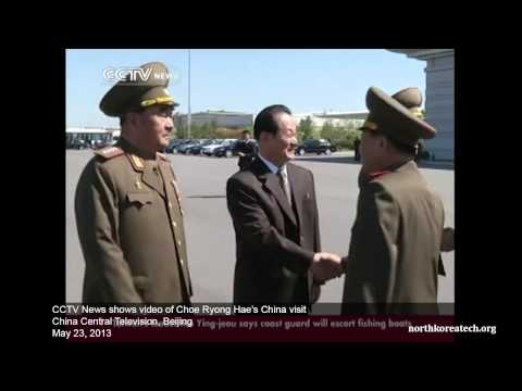 CCTV News shows video of Choe Ryong Hae visit