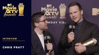 Chris Pratt on Winning Generation Award | 2018 MTV Movie & TV Awards - MTV