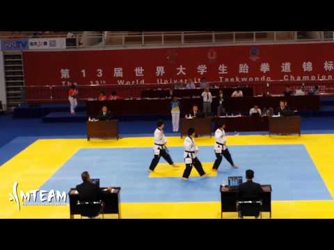Team-M @ 2014 World University Taekwondo Championship (Hohhot, China)