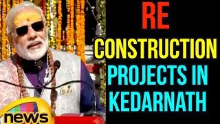 PM Modi to Lay Foundation Stone of Kedarpuri Reconstruction Projects in Kedarnath | Mango News - MANGONEWS