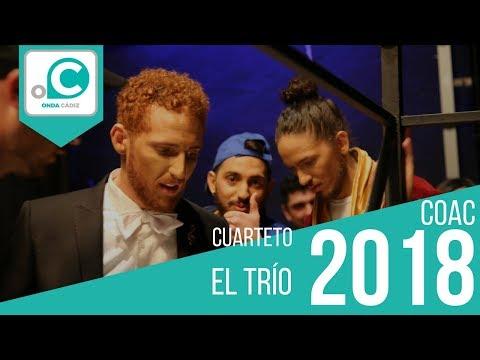 Sesión de Cuartos de final, la agrupación El trío actúa hoy en la modalidad de Cuartetos.