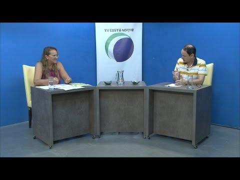TV Costa Norte - Sala de Imprensa com Márcia Lia - vereadora (PRB)