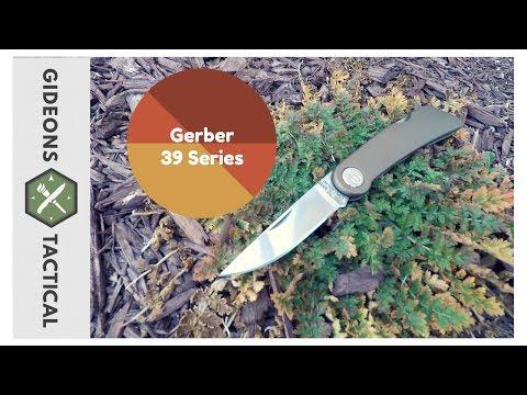 A Winner! Gerber 39 Series Pocket Knife