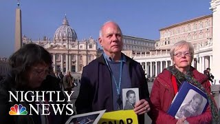 Survivors Make Their Voices Heard Ahead Of Vatican Summit On Sex Abuse | NBC Nightly News - NBCNEWS