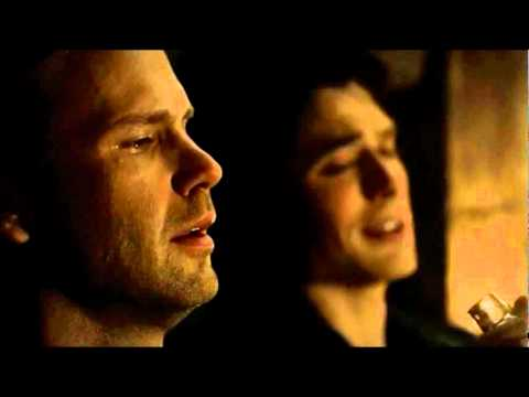 3x20 Damon &amp; Alaric ending scene // Alaric becomes a vampire [The Vampire Diaries]