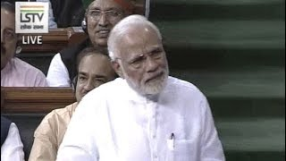 PM Modi Responds To No-Trust Debate In Parliament - NDTV
