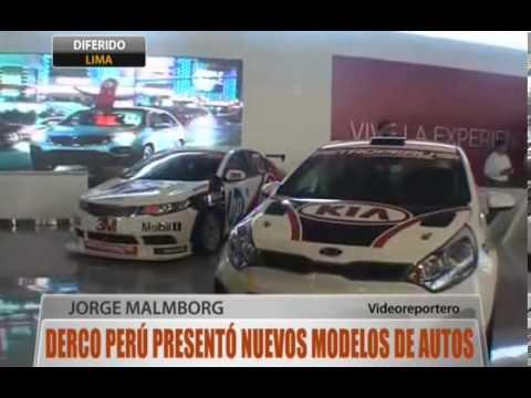 Derco Perú presentó nuevos modelos de autos