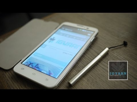 Micromax Canvas Doodle A111 - Unboxing - Boot - Cover and Stylus- Initial Review - iGyaan