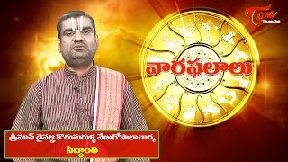 Vaara Phalalu | May 17th to May 23rd 2015 | Weekly Predictions 2015 May 17th to May 23rd - TELUGUONE
