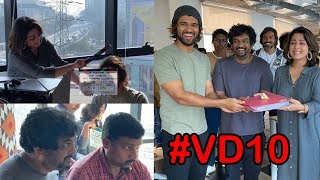 Vijay Devarakonda's Fighter Movie Opening Video | Puri Jagannadh | Charmi | #VD10 #PJ37 #PCfilm - IGTELUGU