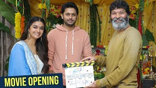 Nithin and Keerthy Suresh's Rang De Movie Opening - TFPC