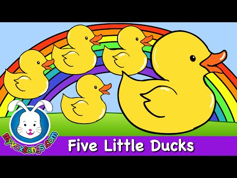 Five Little Ducks - Nursery Rhymes
