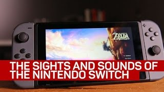 The satisfying sounds of the Nintendo Switch - CNETTV