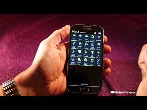 Samsung Galaxy S4 Notifications Bar Demo