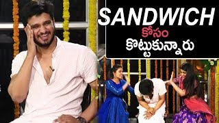 Nikhil Making Super Fun On Samyuktha And Simran Pareenj | TFPC - TFPC