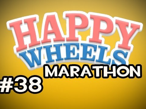 Happy Wheels MARATHON w/Nova Ep.38 - Gotta Beat Them All