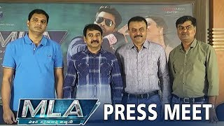 MLA Movie Press Meet | Nandamuri Kalyan Ram | Kajal Aggarwal | TFPC - TFPC
