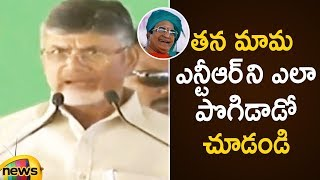 Chandrababu Naidu Appreciates Sr NTR at Iconic Bridge Foundation Ceremony | AP News | Mango News - MANGONEWS