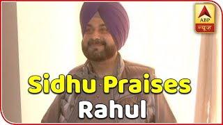 Rahul Gandhi rose as a leader: Navjot Singh Sidhu - ABPNEWSTV