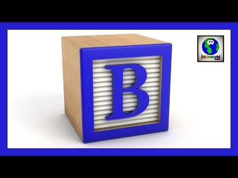 The Alphabet ABC Song in English Lesson 1: A - E