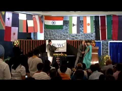 UWC Mahindra College Graduation Ceremony 22nd May 2013.
