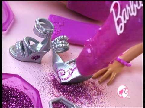 Barbie 閃亮設計師 廣告