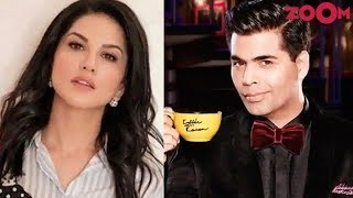 Sunny Leone REVEALS why she has NOT been part of 'Koffee with Karan' - ZOOMDEKHO