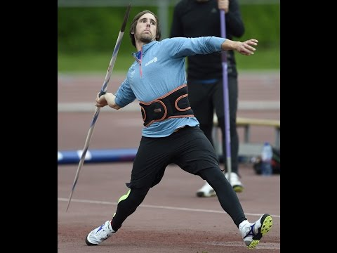 Javelin technique  throwing training Timothy Herman Portugal