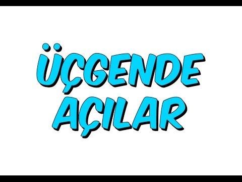 10dk da ÜÇGENDE AÇILAR - Tonguc Akademi
