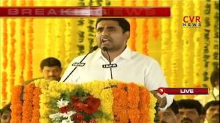 Minister Nara Lokesh Speech @ Nellore TDP Nava Nirmana Deeksha 2018 | CVR News - CVRNEWSOFFICIAL