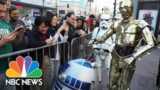 'Star Wars' Fans Flock To Hollywood For First Screenings Of 'The Last Jedi' | NBC News - NBCNEWS