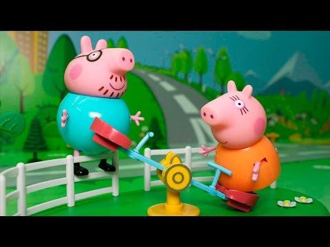 мультики для самых маленьких свинка пеппа подряд без остановки
