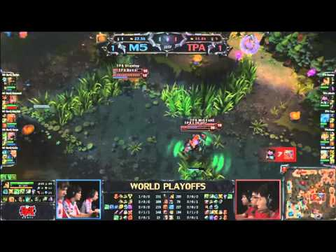 (HD241) World Championship - Semi Final - M5 vs Taipei Assassins - Game 3 -