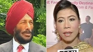 Milkha Singh, Mary Kom thank Obama for his support - NDTV