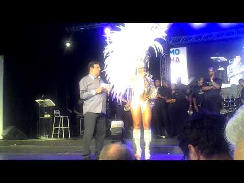 Corte do Carnaval 2015 - Rio de Janeiro - Candidata 7 - Posto de Rainha: Clara Paixão (Campeã)