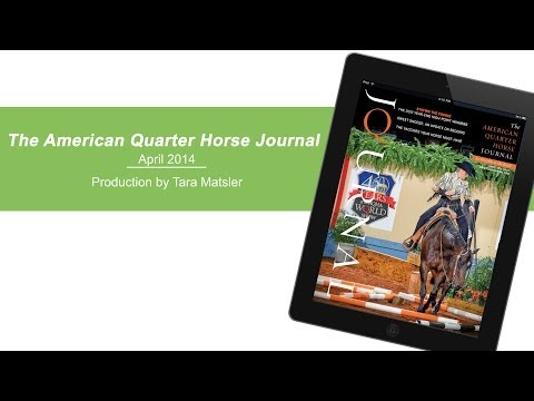 April 2014 American Quarter Horse Journal
