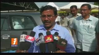 AP Chandrababu To Visits Nandyal | Collector &MLA Brahmananda Reddy Inspects Arrangements | iNews - INEWS