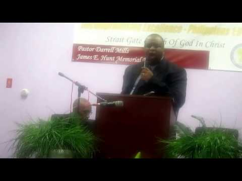 Strait Gate COGIC Anniversary 2017: Guest-Pastor Graham of CCF