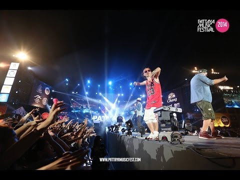 Thaitanium บ่องตง || Pattaya Music Festival 2014 Official