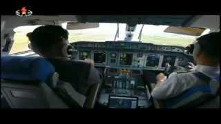 زعيم كوريا الشمالية يستعرض مهارته في قيادة الطائرات